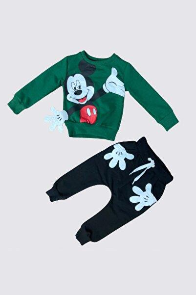 Disney Mickey Mouse Kız Çocuk Eşofman Takım