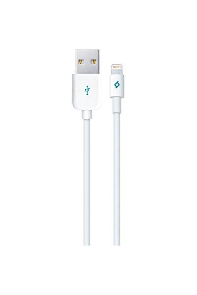 Ttec 2dkm01b Mfi Iphone Lisanslı Uyumlu   Şarj Kablosu Beyaz
