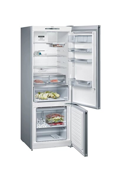 Siemens Siyah Seramik No Frost Alttan Donduruculu Buzdolabı