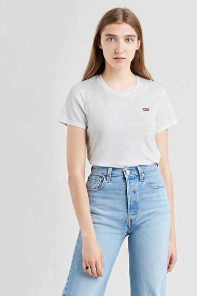 Levi's Kadın Perfect Tee  Beyaz Kadın Tişört 3918500280