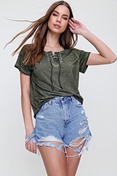 Trend Alaçatı Stili T-Shirt