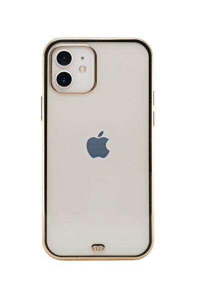 shoptocase Iphone 11 Premium Electrolize Silikonlu Siyah Telefon Kılıfı