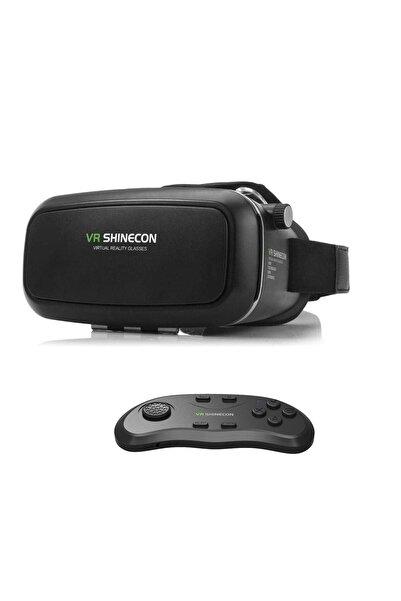 VR Shinecon 3d Sanal Gerçeklik Gözlüğü Kumanda Tam Set