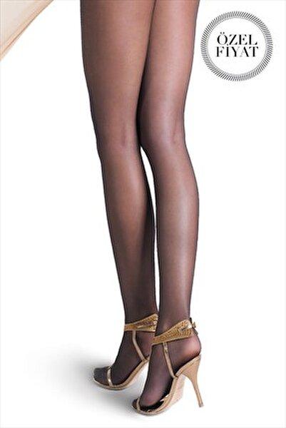 Yarı Parlak Tanga Dantel Külotlu Çorap Hera