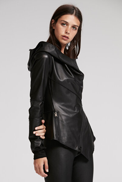 rue. Kadın Siyah Ceket 20870003