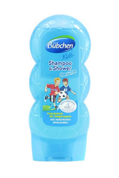 Çocuk Şampuanı Ve Duş Jeli Sport 230Ml