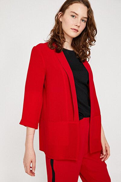 Koton Kadın Kırmızı Ceket 8YAK52627UW