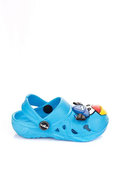 Pembe Potin Mavi Çocuk Terlik A083-17