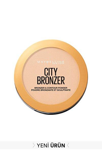 Maybelline New York City Bronze Bronzlaştırıcı & Kontür Pudrası Açık. Soğuk Ton 100 Light Cool 3600531528973