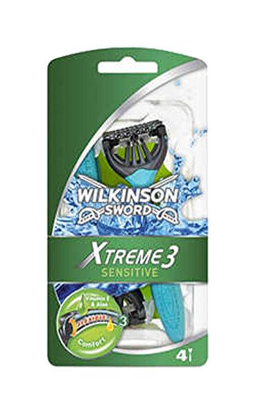 Wilkinson Xtreme 3 - Oynar Başlıklı Kullan At Tıraş Bıçağı 4'Lü Paket