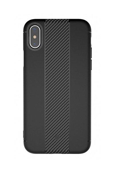 Totu Design Soft Series iPhone X Siyah Silikon Kılıf