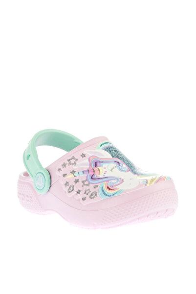 Crocs Kids Pembe Unicorn Unisex Çocuk Sandalet 205001