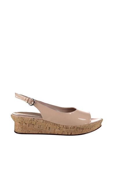 Derimod Bej Kadın Sandalet
