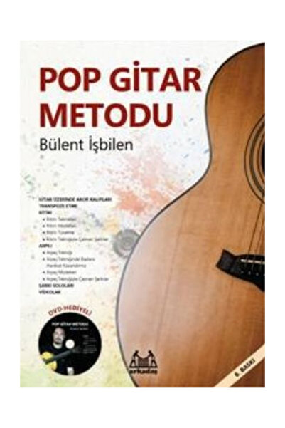 Arkadaş Yayınları Pop Gitar Metodu - Bülent İşbilen