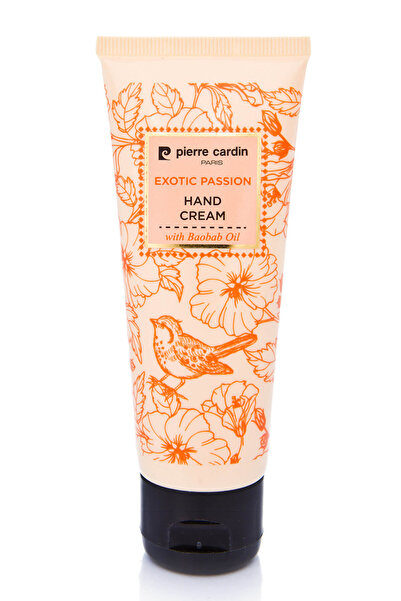 Pierre Cardin Baobab Yağı içeren E Vitaminli Nemlendiri El Kremi - Exotic Passion Hand Cream 75 ml  8680570257435