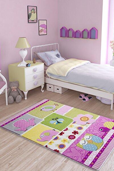 Confetti Patchwork 100x150 Oymalı Çocuk Bebek Odası Halısı