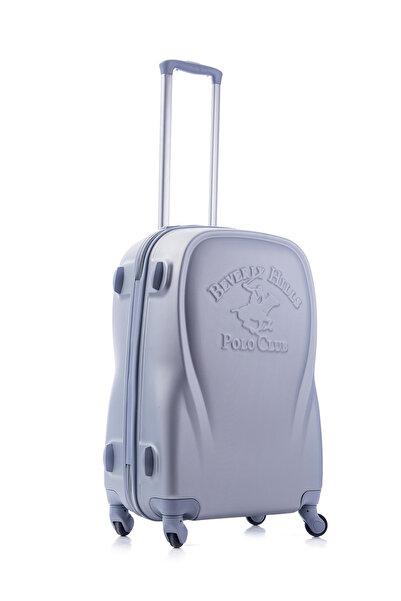 Beverly Hills Polo Club Gri Unisex Canada Orta Boy Valiz 1PL010550