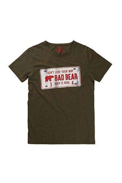 Bad Bear Haki Erkek Tişört PLATE TEE KHAKI
