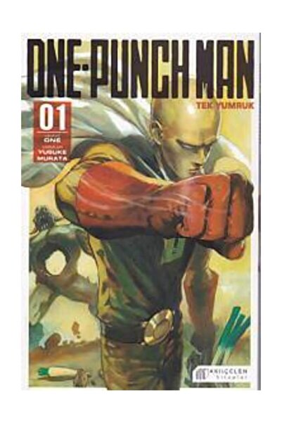 Akıl Çelen Kitaplar One-Punch Man – Cilt 1 Kolektif - Yusuke Murata