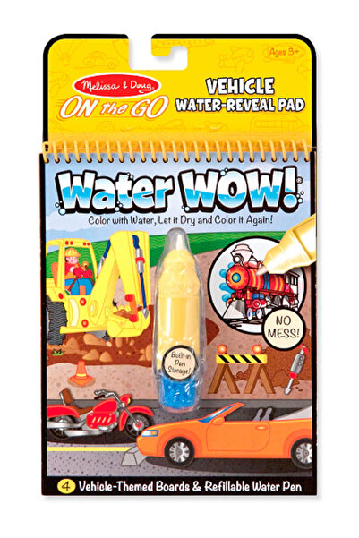 Melissa & Doug Melissa&Doug Water Wow! Su İle Boyama Kitabı - Araçlar /