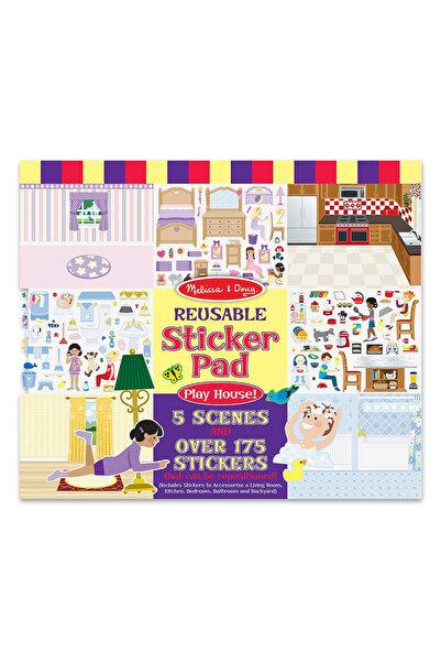 Melissa & Doug Melissa&Doug Tak Çıkar Çıkartma Kitabı - Oyun Evi /