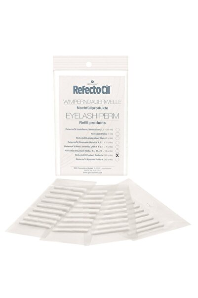 Refectocil Eyelash Roller XLarge Kirpik Perma Rulosu 36 adet 9003877550365