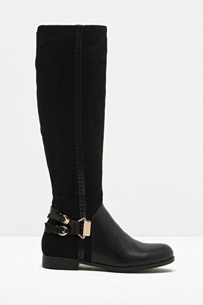 Koton Kadın Siyah Çizme 7KAK20734AA