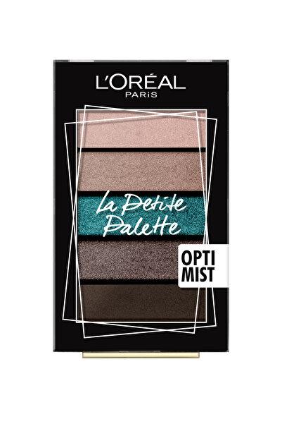 L'Oreal Paris Göz Farı Paleti - La Petite Palette Optimist 3600523556038