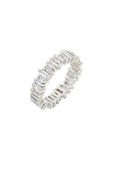 Söğütlü Silver Kadın Baget Taşlı Tamtur Yüzük SGTL2792