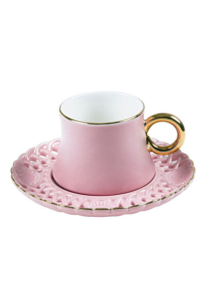 Pierre Cardin Spring Rose Pink Kahve Fincan Seti