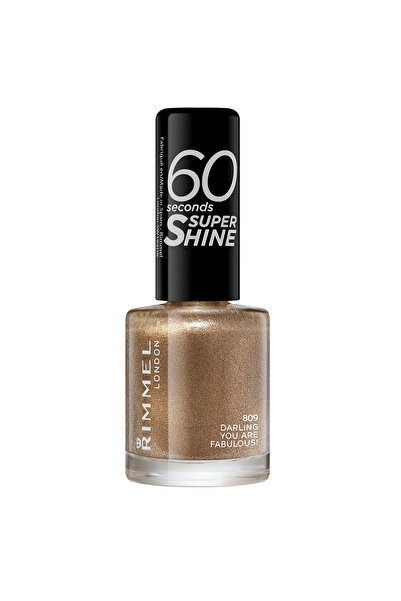 RIMMEL LONDON Oje - 60 Seconds Super Shine 809 Darling, You Are Fabulous! 3614220650012