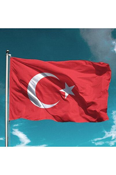 Özgüvenal Türk Bayrağı 100x150 cm Raşel Kumaş
