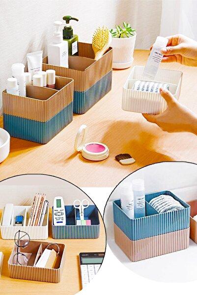 Helen's Home Banyo Mutfak Düzenleyici Bölmeli Plastik Kutu