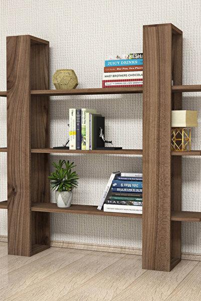 Puzzle Design Ada Kapaklı Kitaplık Raf