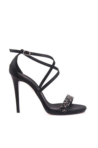 Tanca Sıyah Kadın Klasik Topuklu Ayakkabı  161Tck456 617