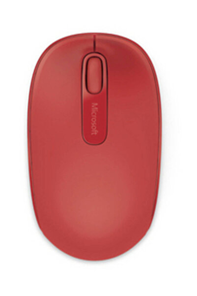 MICROSOFT Microsoft Wireless Mobile 1850 Mouse - Kırmızı (U7Z-00033)