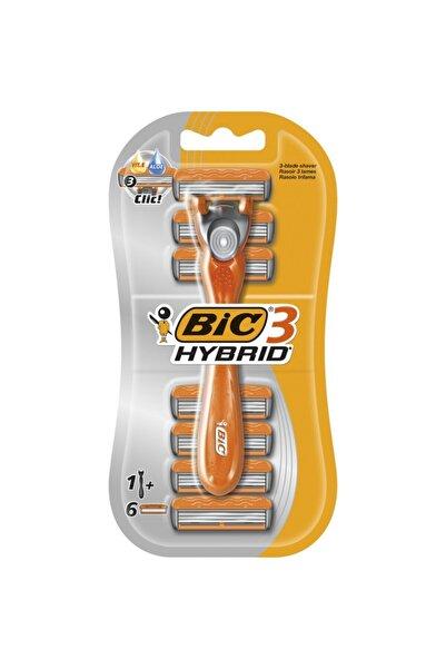 Bic 3 Hybrid Tıraş Bıçağı 6 Kartuşlu