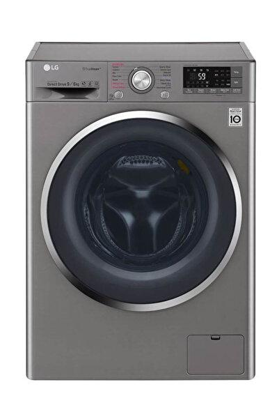 LG F4J8FHP2S A+++ 9 Kg Yıkama 6 Kg Kurutma Kapasiteli 1400 Devir Çamaşır Makinesi