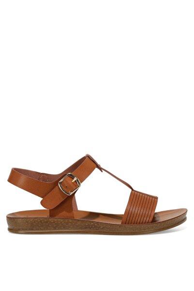 İnci EROSSA 1FX Kahverengi Kadın Düz Sandalet 101027917
