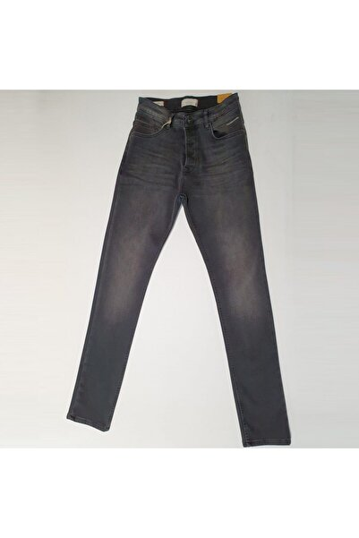 Five Pocket Erkek Gri Jean Pantolon (7297-h997)