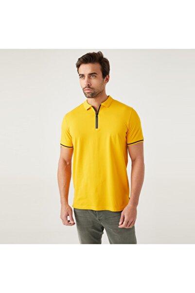Five Pocket Erkek Sarı Polo Tişört 8102-fy66