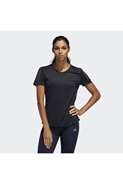 OWN THE RUN TEE Siyah Kadın T-Shirt 101117561
