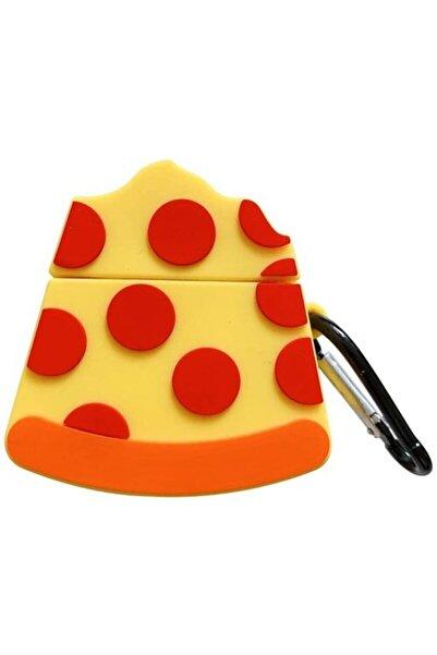 Sunix Sevimli Pizza Silikon 1.-2. Nesil Apple Airpods Kılıf