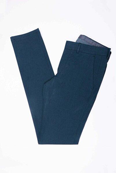 Jakamen Erkek Lacivert Ekstra Slim Pamuk Pantolon