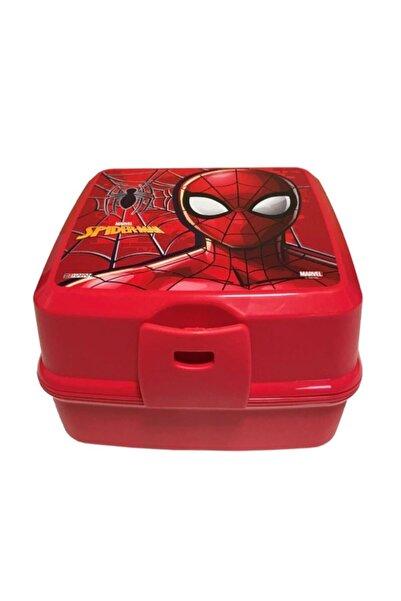 pazaristanbul Spiderman Lisanslı 4 Bölmeli Beslenme Kabı