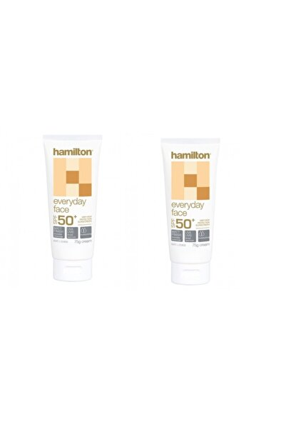 Hamilton Everyday Face Spf 50+ 75 g 2 Adet