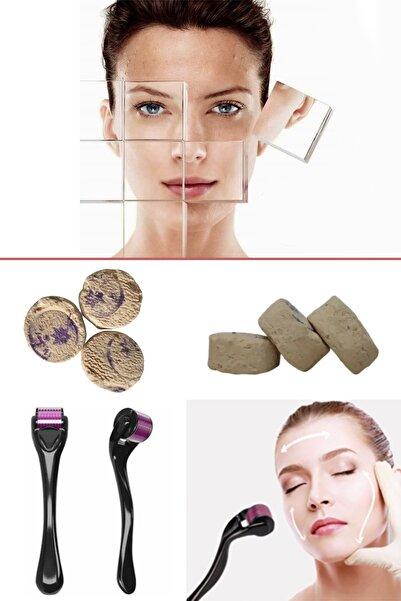 xolo Dermaroller 1 mm Saç Çıkarma + Mühürlü Ruşur Taşı Sefidab Taşı 8297415579362