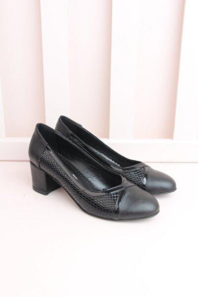 Shoes Time Kadın Siyah Günlük Ayakkabı 19k 122