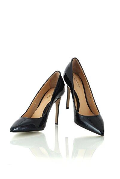 Kadın Ayakkabı 2536 05 Rugan Sımlı 1318 R5057-(10.5 Cm)