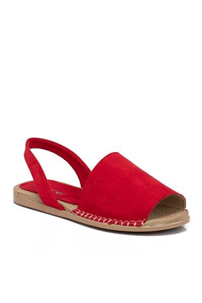 Tergan Kadın Kırmızı Vegan Sandalet 210112d64